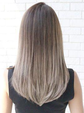 根元プリンでもok 黒の髪色ベースのグラデーションカラー 髪型ヘアカラーカタログ Naver まとめ ヘアカラー 髪 色 髪色 グラデーション