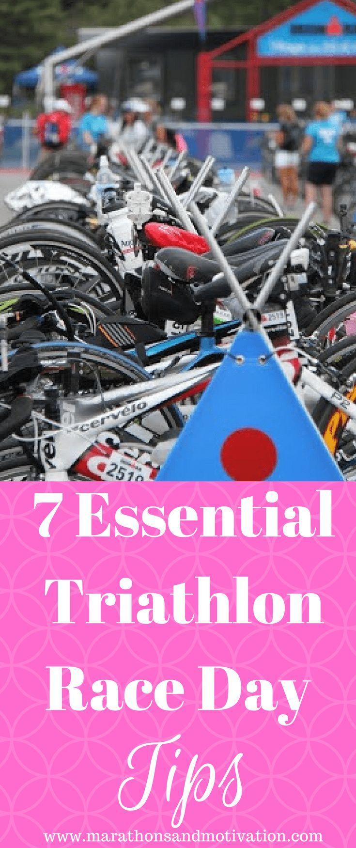 Seven Essential Triathlon Race Day Tips: #Triathlon #IronmanTriathlon #SprintTriathlon | Triathlon R...