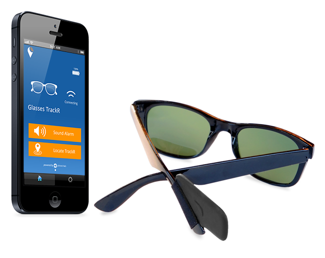 de46466c2a Glasses TrackR - Locate Sunglasses and Eyeglasses using your Smartphone |  Indiegogo New Ray Ban Sunglasses