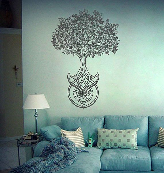 Tree Of Life Wall Decals Tree Decor Celtic Wall Decals For