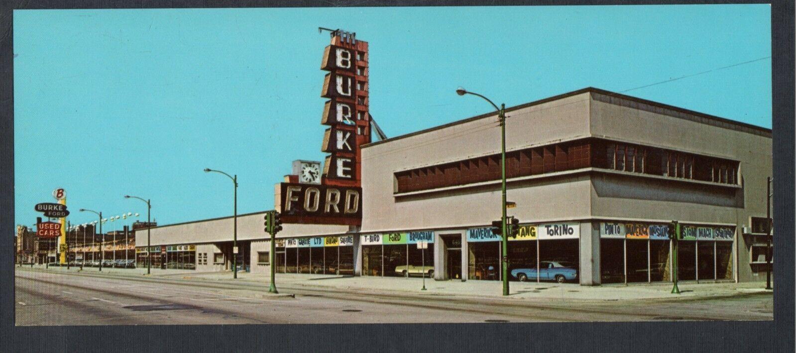 Burke Ford Dealership, Chicago, Illinois | Vintage Car ...