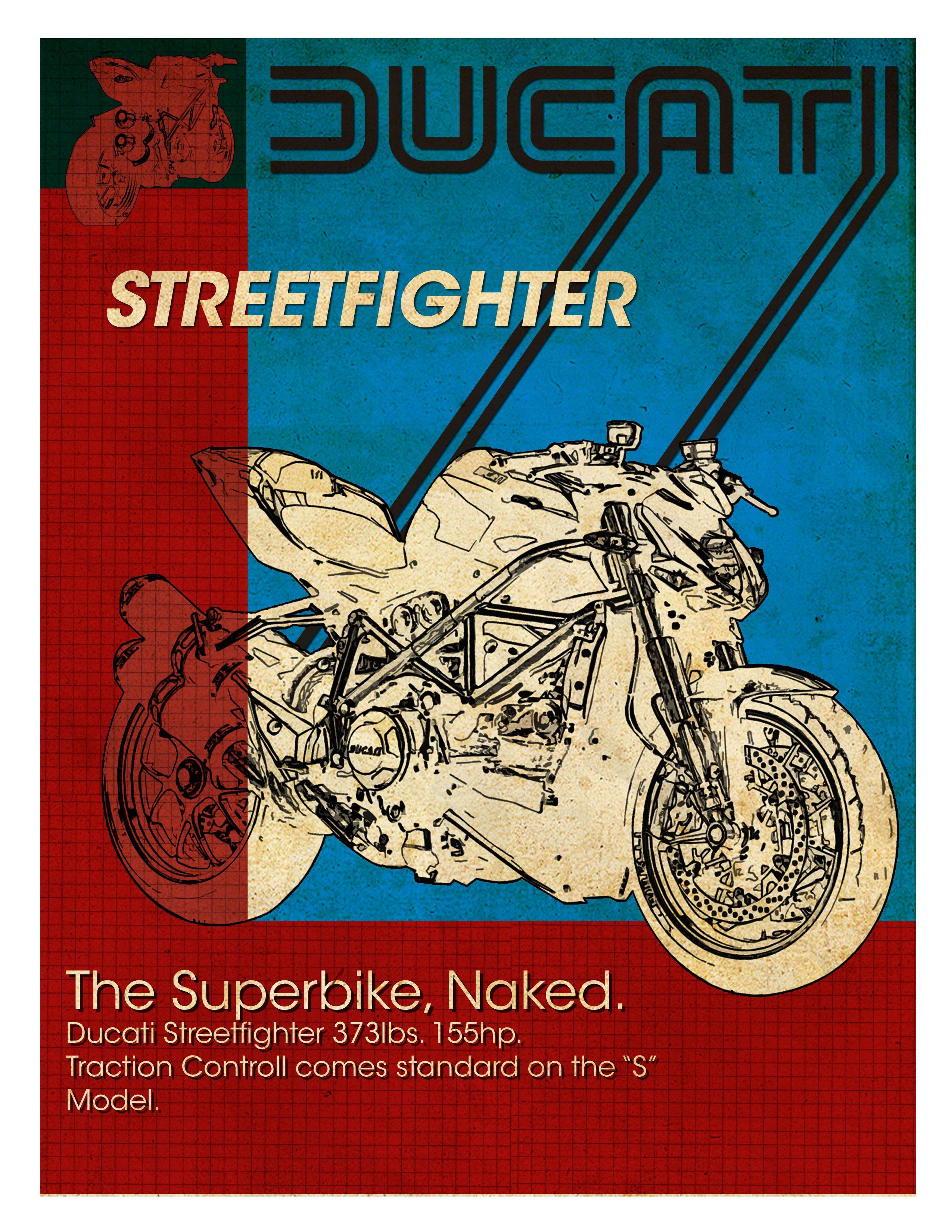 Vintage Ducati Poster 36
