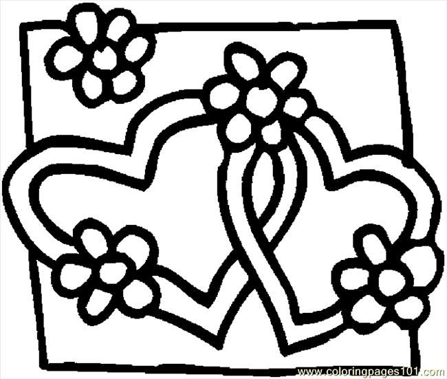 free valentine coloring pictures to print off | Coloring Pages ...
