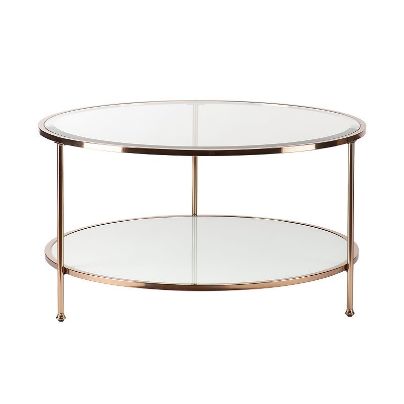 Thurbol Coffee Table Coffee Table Round Glass Coffee Table Gold Coffee Table