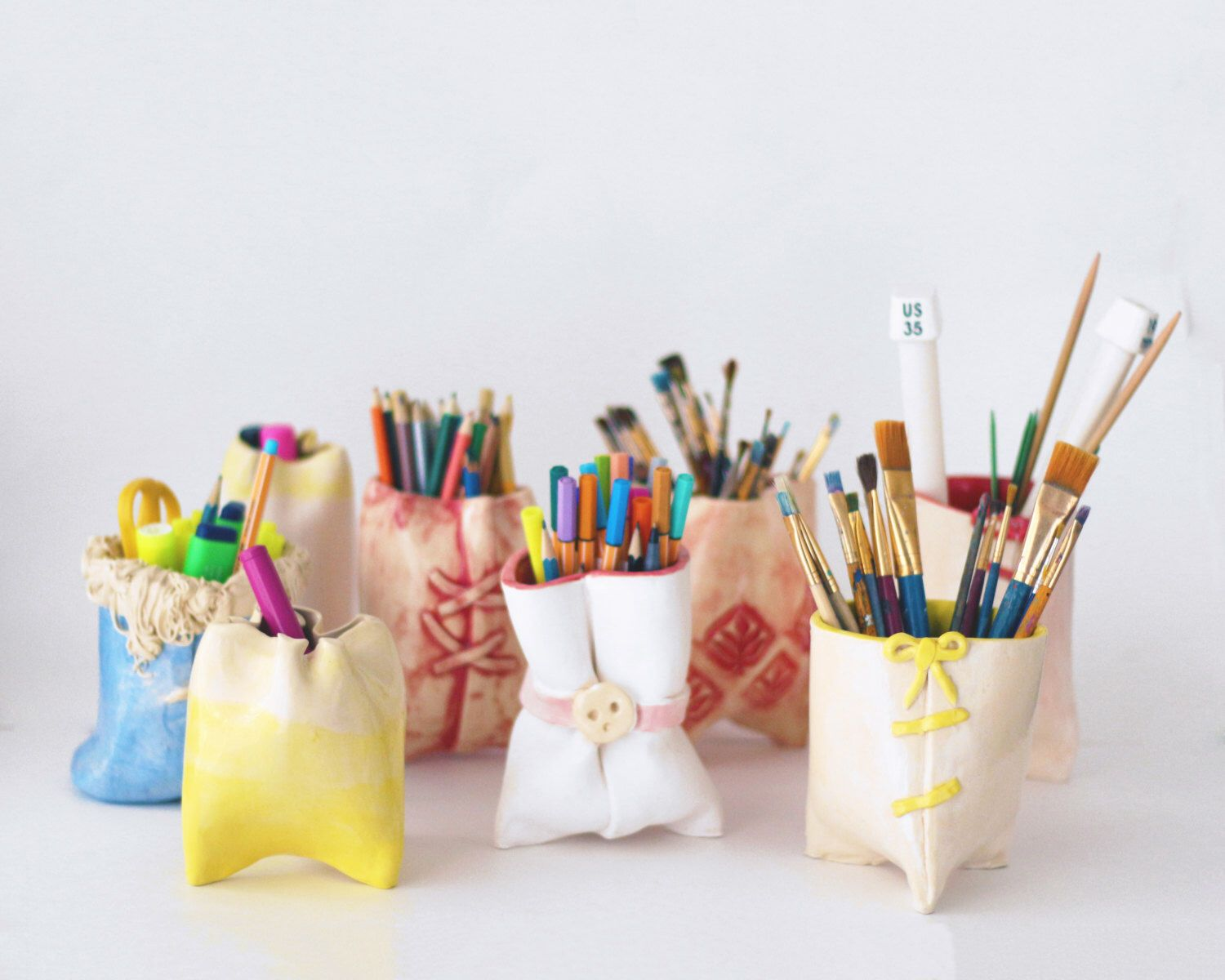Funding on @Etsy: Colorful Ceramic Cups / Pen Holders! #fundonetsy https://www.etsy.com/listing/232653033/colorful-ceramic-cups-pen-holders