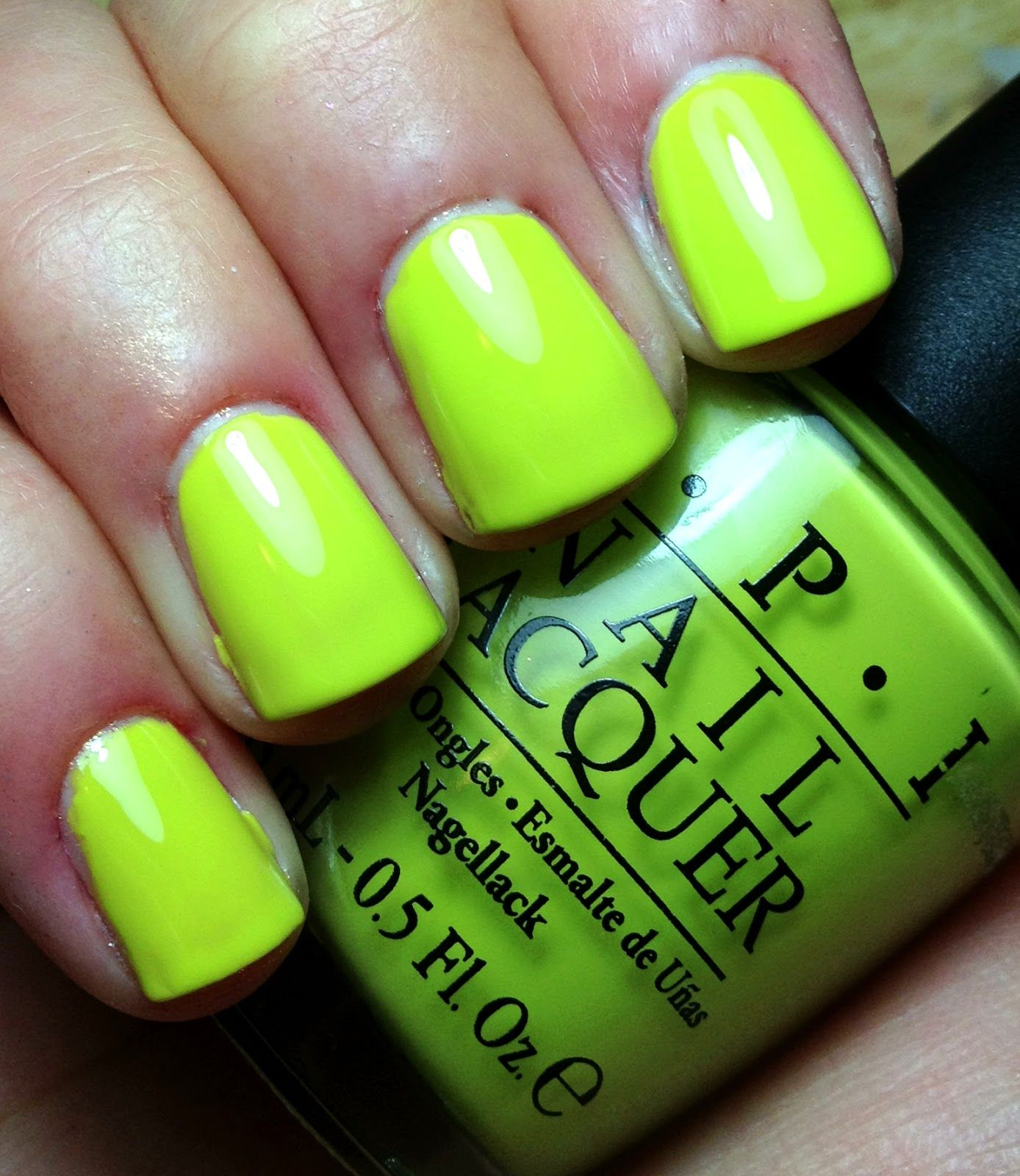 OPI Mini - Stand in Lime for Days | Nail Polish Collection | Pinterest
