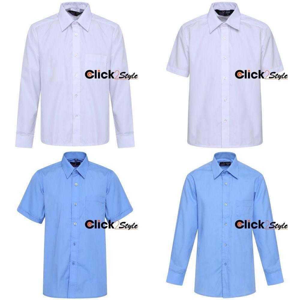 Cheap Long Sleeve School Uniform Shirts Rldm