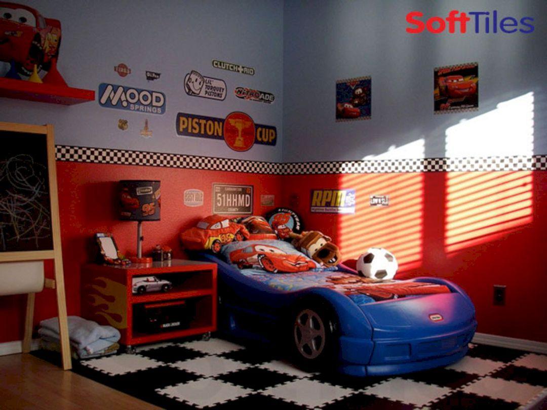 36 Amazing Car Themed Kids Bedroom Design Ideas Cars Room Car Themed Bedrooms Kids Bedroom Designs