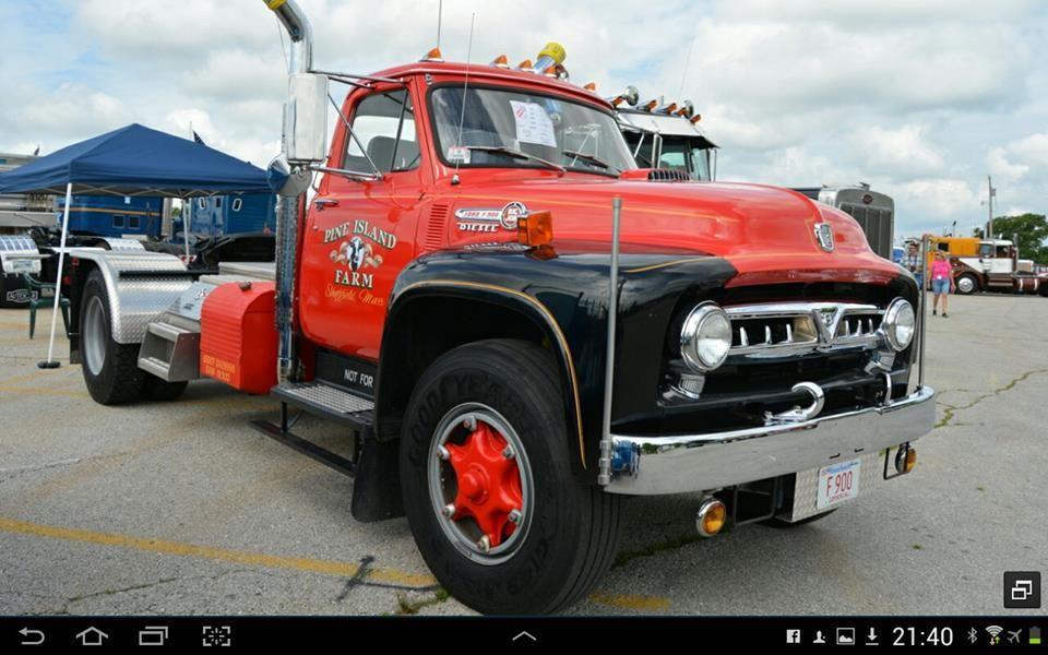 Ford F900 1954 Trucks Classic Ford Trucks Big Trucks