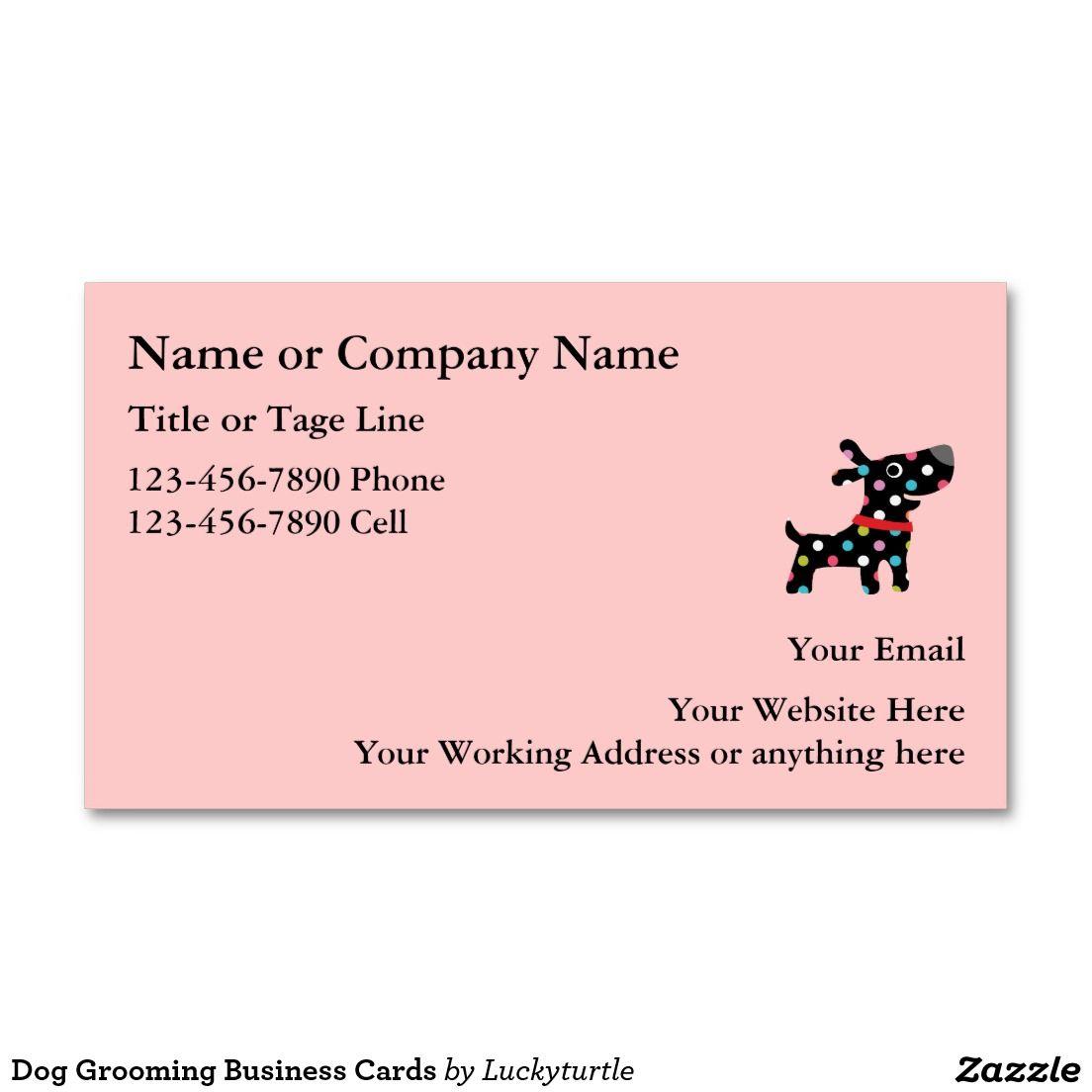 Dog Grooming Business Cards | Art Printmaking | Pinterest ...