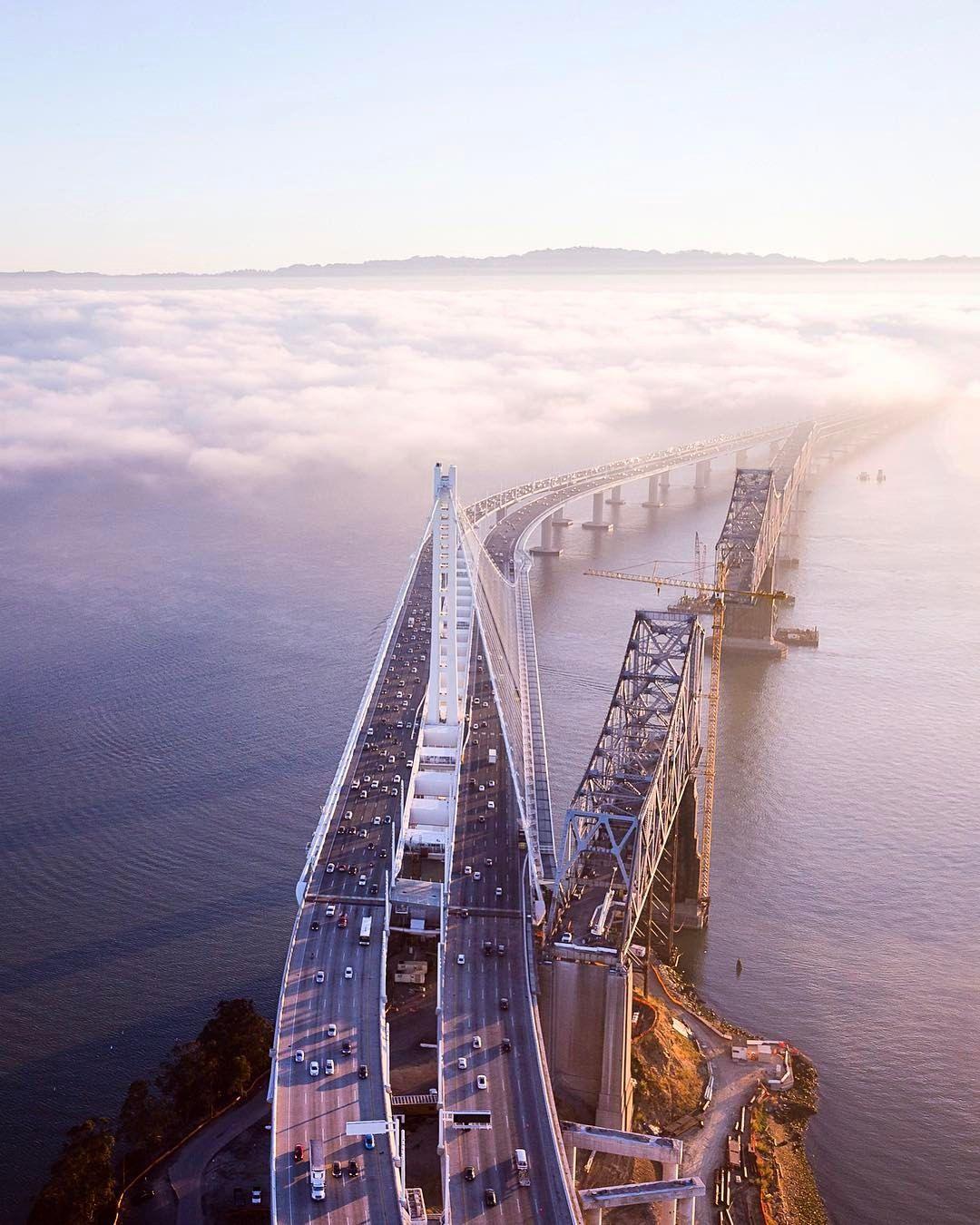 San Francisco: San Francisco-Oakland Bay Bridge By Toby Harriman
