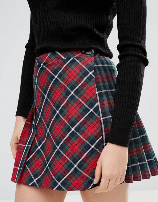 824de404568 Modelos de falda escocesa mujer  escocesa  falda  modelos  modelosdeFalda   mujer