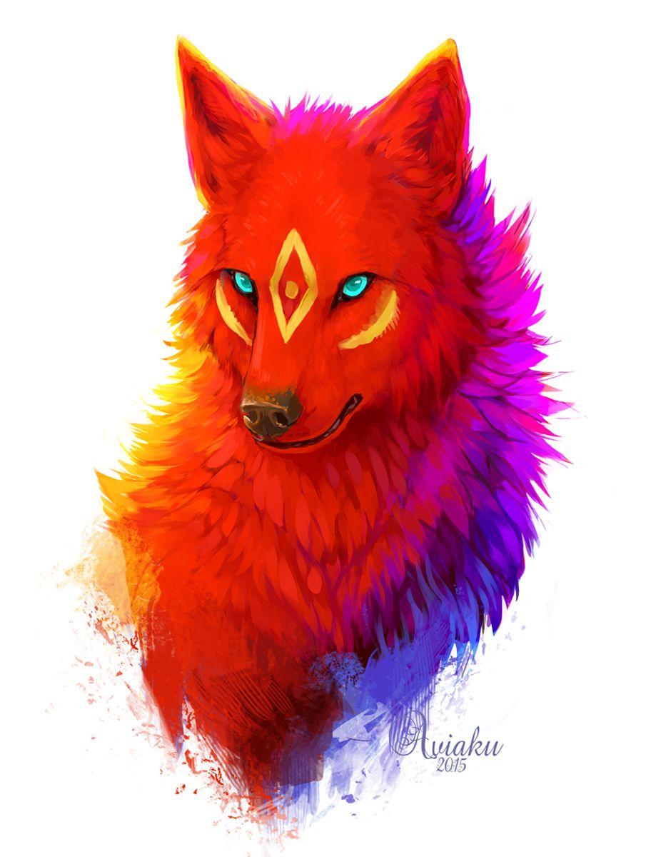 Kola Fox Art Animal Art Furry Art