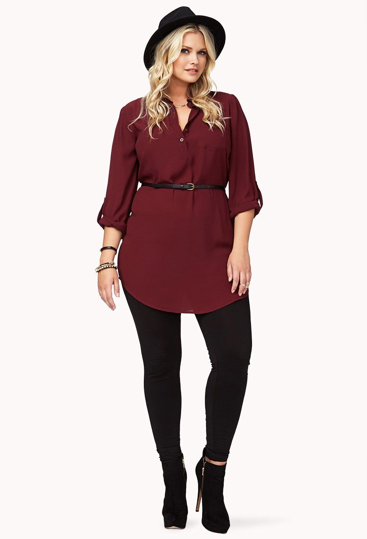 17+ Plus size shirt dress ideas information