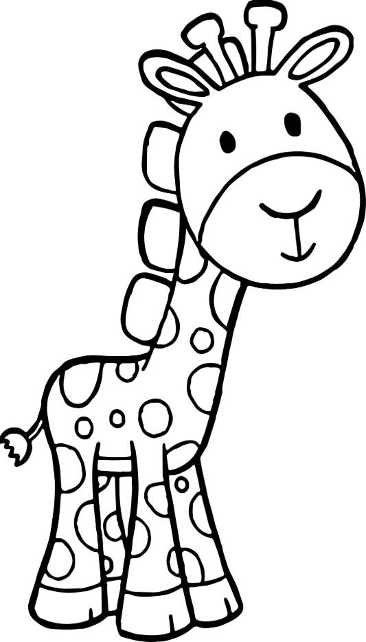 Giraffe Coloring Pages Giraffe Coloring Pages Unicorn Coloring Pages Cartoon Coloring Pages