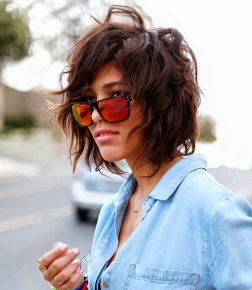Popular Messy Bob Haircuts | Fur-frauen.com |  #BobHaarschnitte – Frisuren Tec