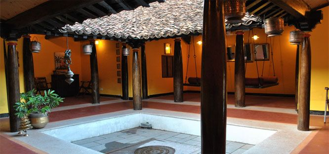 Courtyards would love to have one of these in my house for Traditional indian house designs