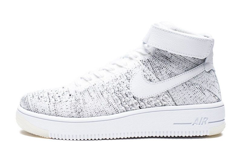the latest 70ccd 36fa4 Nike Releases Black-Speckled Air Force 1 Ultra Flyknit Mid ...