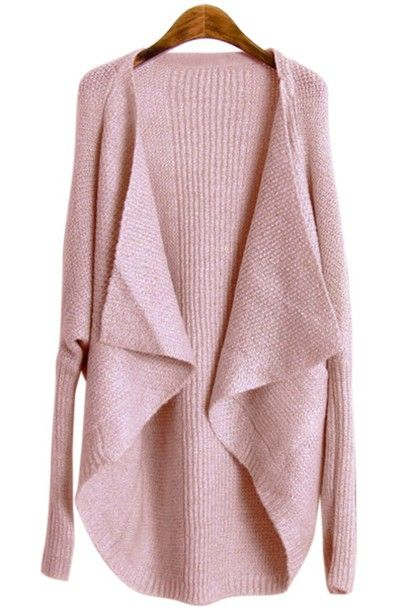 jsvrh1-l-610x610-cardigan-zaful-pink-pastel-pastel+pink-knitwear-knitted+cardigan-fall+outfits-winter+outfits-cute-casual-winter+sweater-streetwear-streetstyle.jpg (407×610)