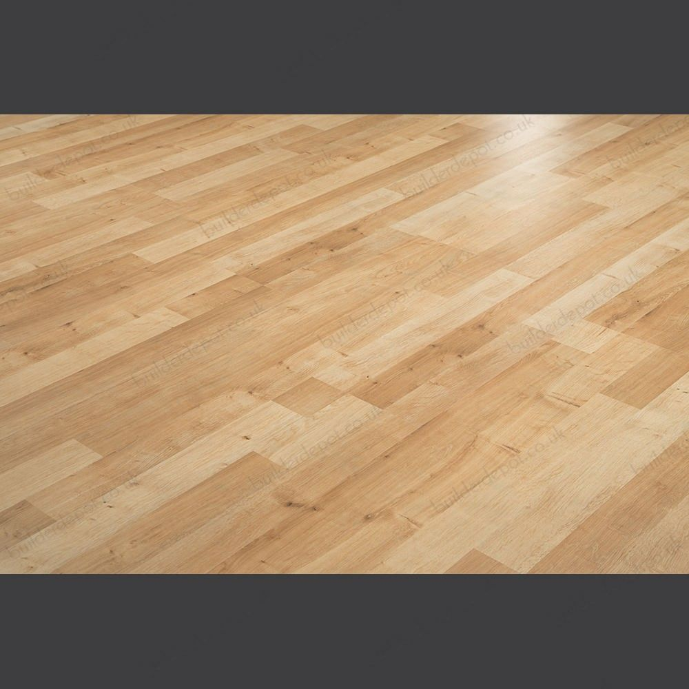 Krono Kronoclic 3 Strip Wellington Oak 6mm Laminate Flooring J001054