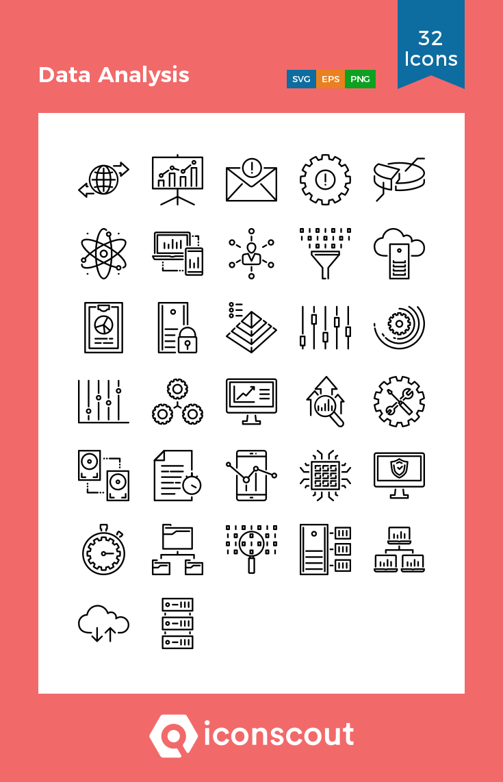 Download Data Analysis Icon Pack Available In Svg Png Eps Ai Icon Fonts Data Icon Data Analysis Icon