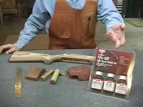 Gunsmithing   Stock Finishing With Bar Top Varnish Presented By Larry  Potterfield Of MidwayUSA   YouTube
