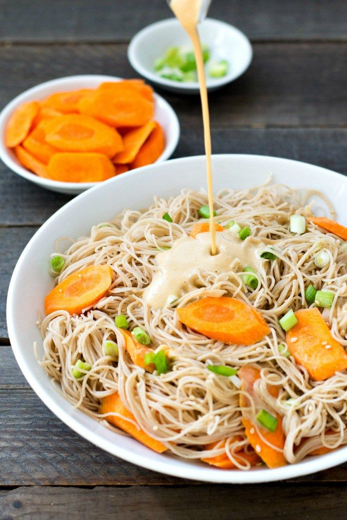 These Rice Noodles With Peanut Sauce Are A Healthy Kid Friendly High Protein Side Dish You Ll Love This Easy R Peanut Sauce Rice Noodles Vegan Lunch Recipes