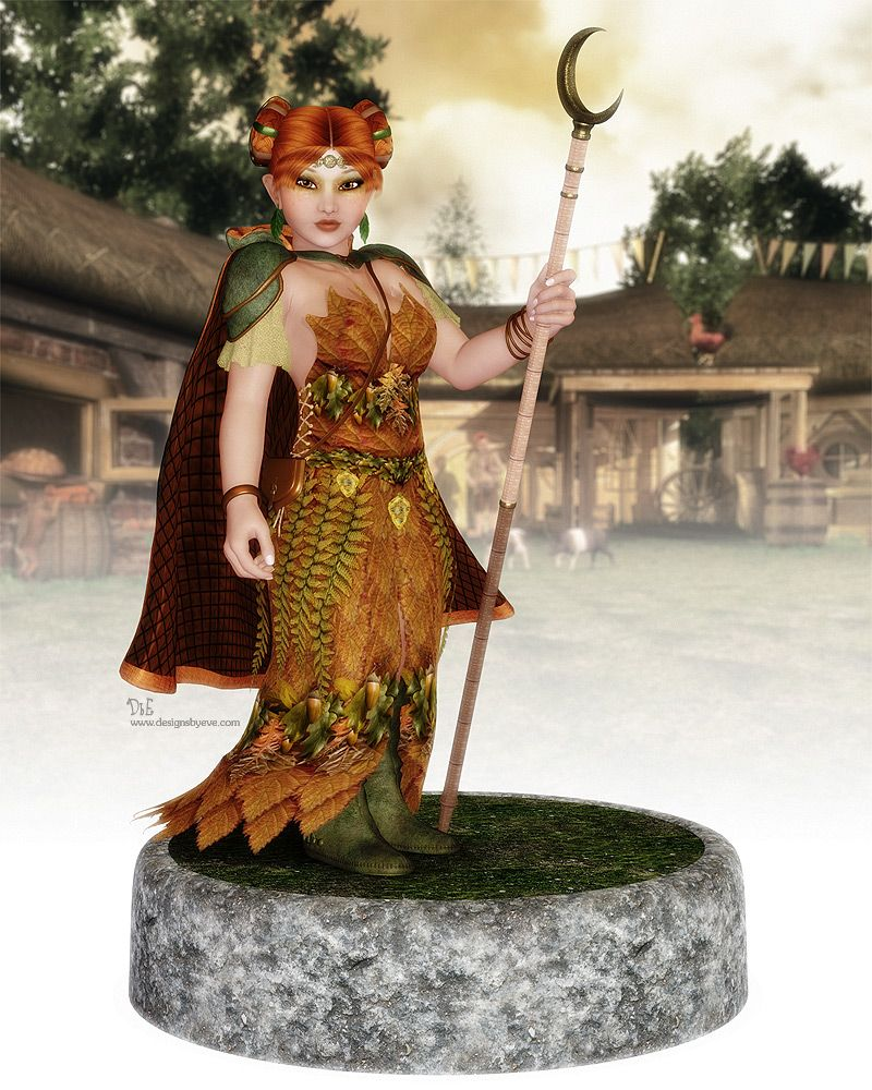 Halfling druid by designsbyeveiantart on deviantart halfling druid by designsbyeveiantart on deviantart nvjuhfo Choice Image