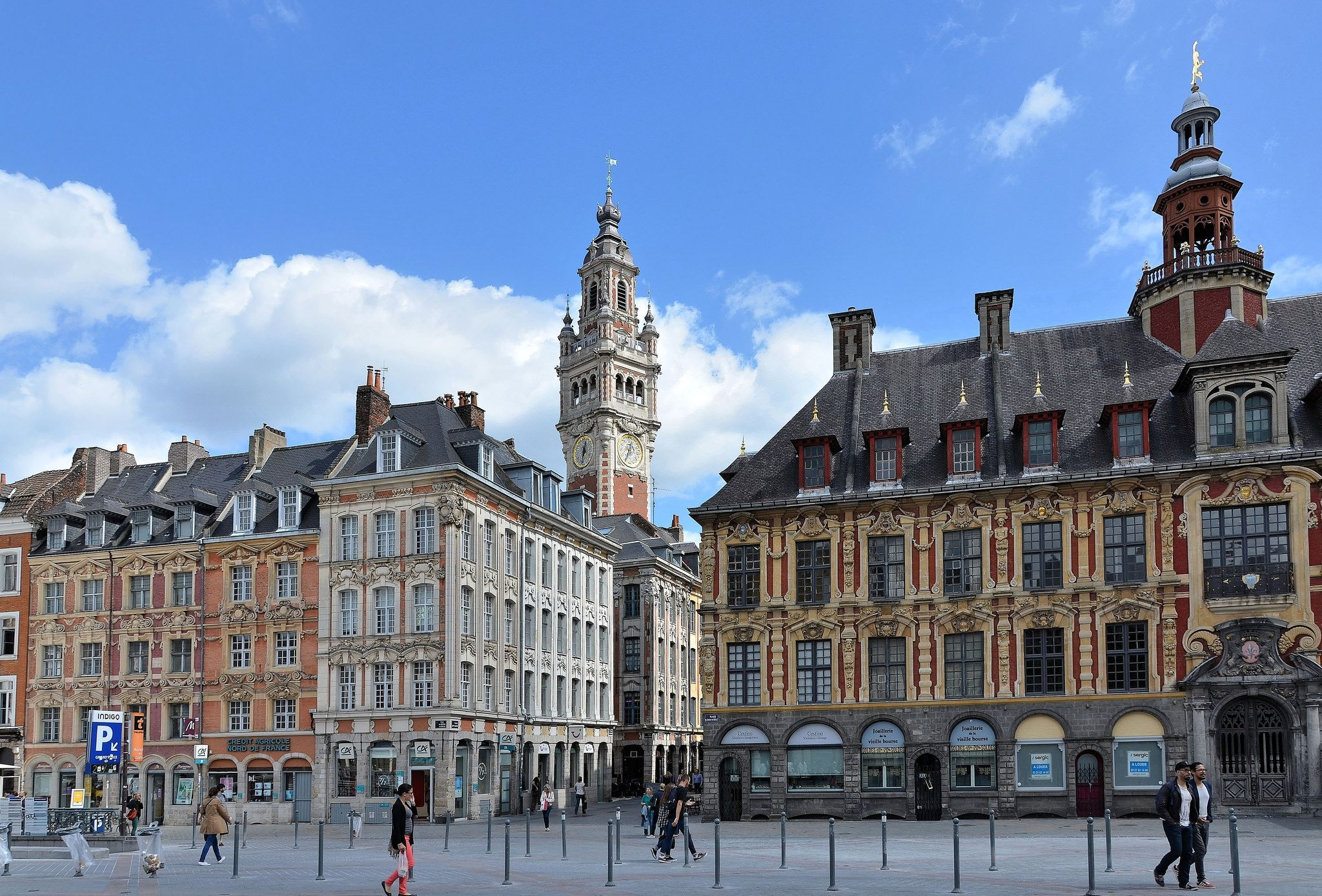 Lille (Nord) Grand'Place (place du GénéraldeGaulle