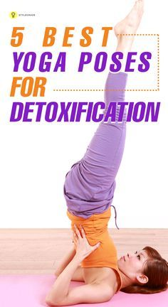 8 challenging yoga asanas that will help you detox your