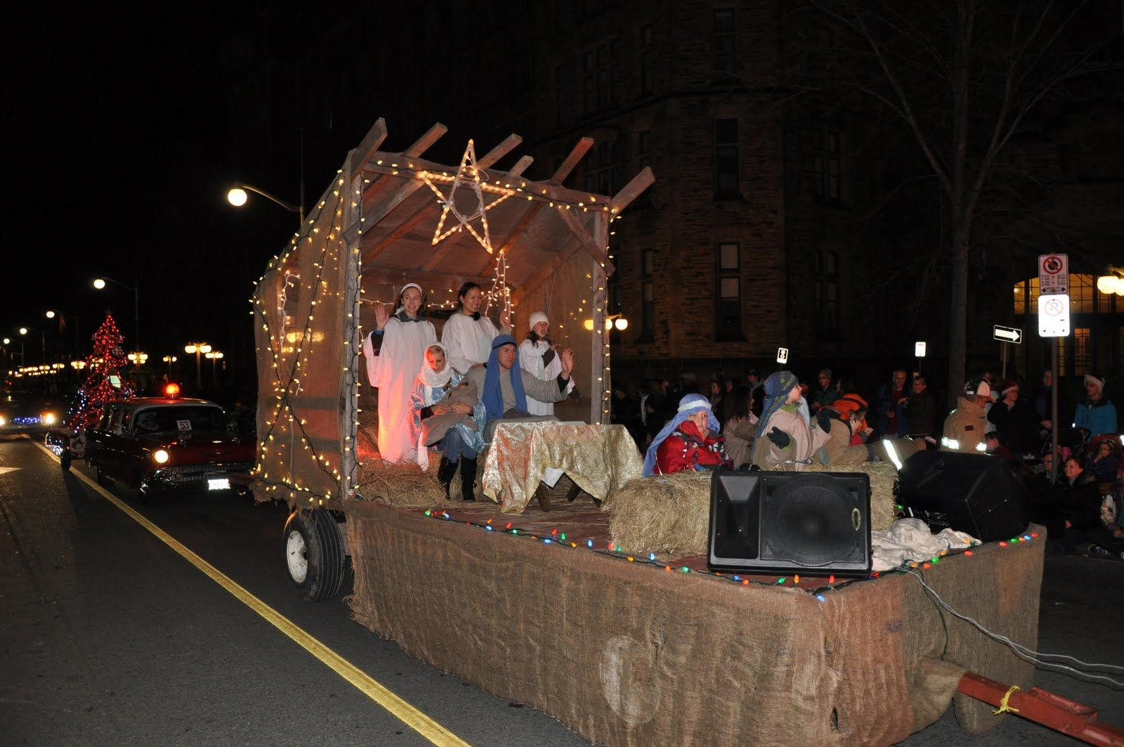 Christmas festival ideas for church - Church christmas floats get involved too many holiday parades these days no