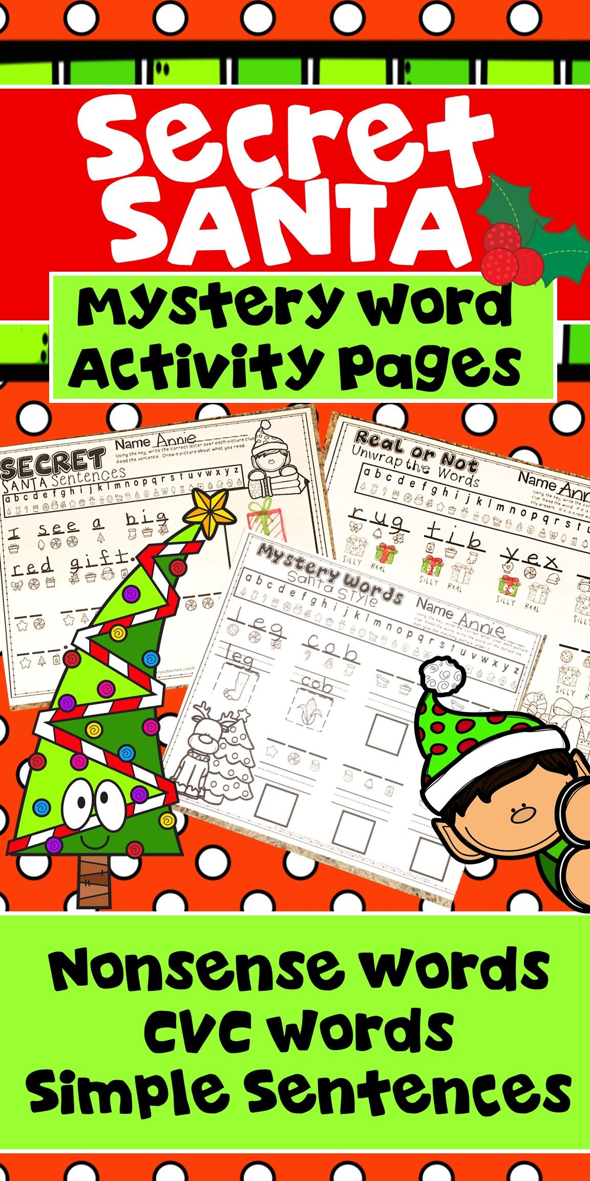 This Christmas Holiday Activity Will Keep Kindergarten And