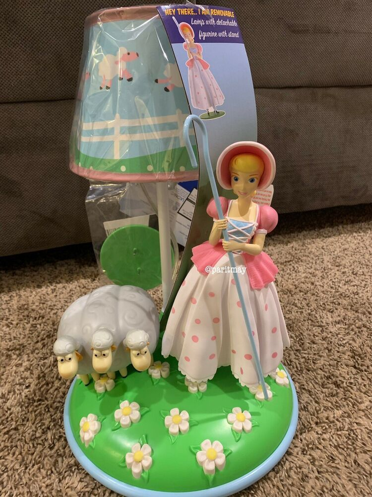 Disney Pixar Toy Story Bo Peep Lamp New With Tag100 Condition But Not Sealed Fashion Home Garden Homedcor O Cumple Toy Story Ropa De Unicornio Juguetes