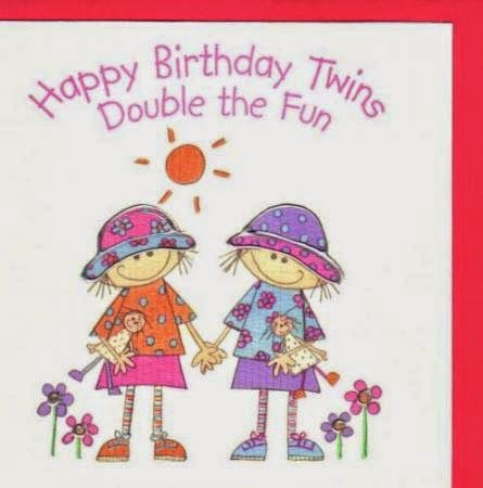 Birthday Quotes for Twins Sister – Twin Sister Birthday Card