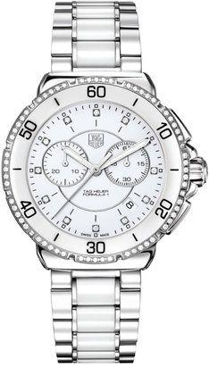 TAG HEUER Ladies' Formula 1 Stainless Steel Diamond Watch
