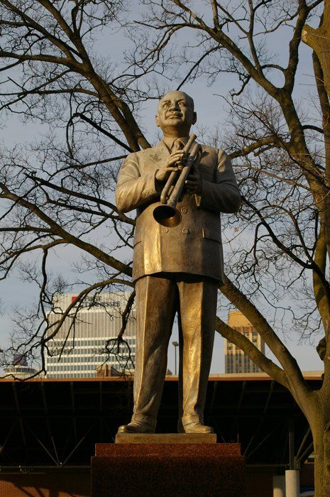 WC Handy on Beale by Donna Sherard Porter