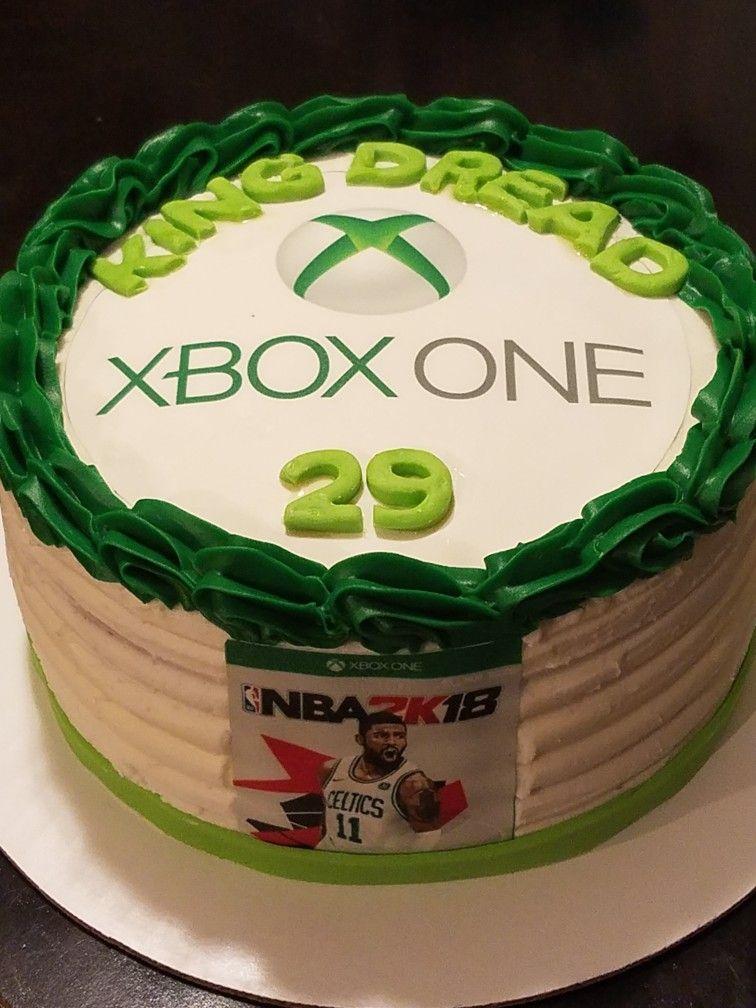 Xbox One Birthday Cake Xbox Pinterest Torten