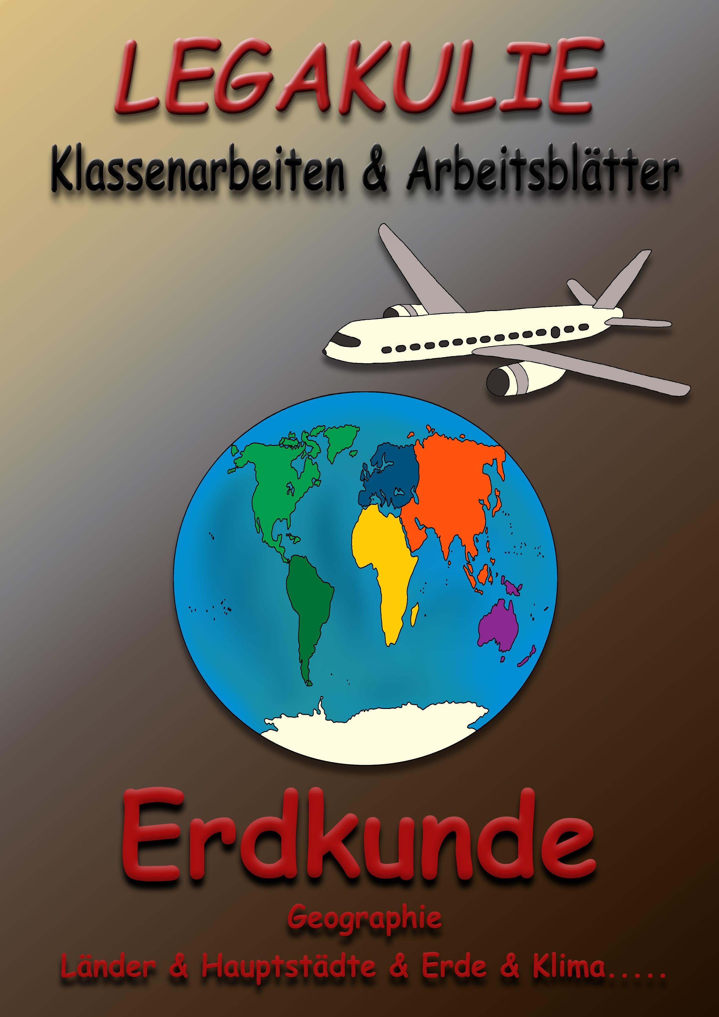 Erdkunde #Klassenarbeit #Arbeitsblatt #PDF Die Arbeitsblätter und ...