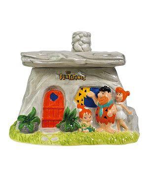 Look at this #zulilyfind! Flintstones Family House Cookie Jar by The Flintstones #zulilyfinds