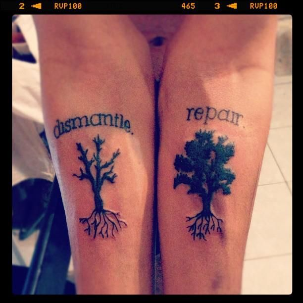 Actually One Of The Best Anberlin Tattoos I Ve Ever Seen Tattoos