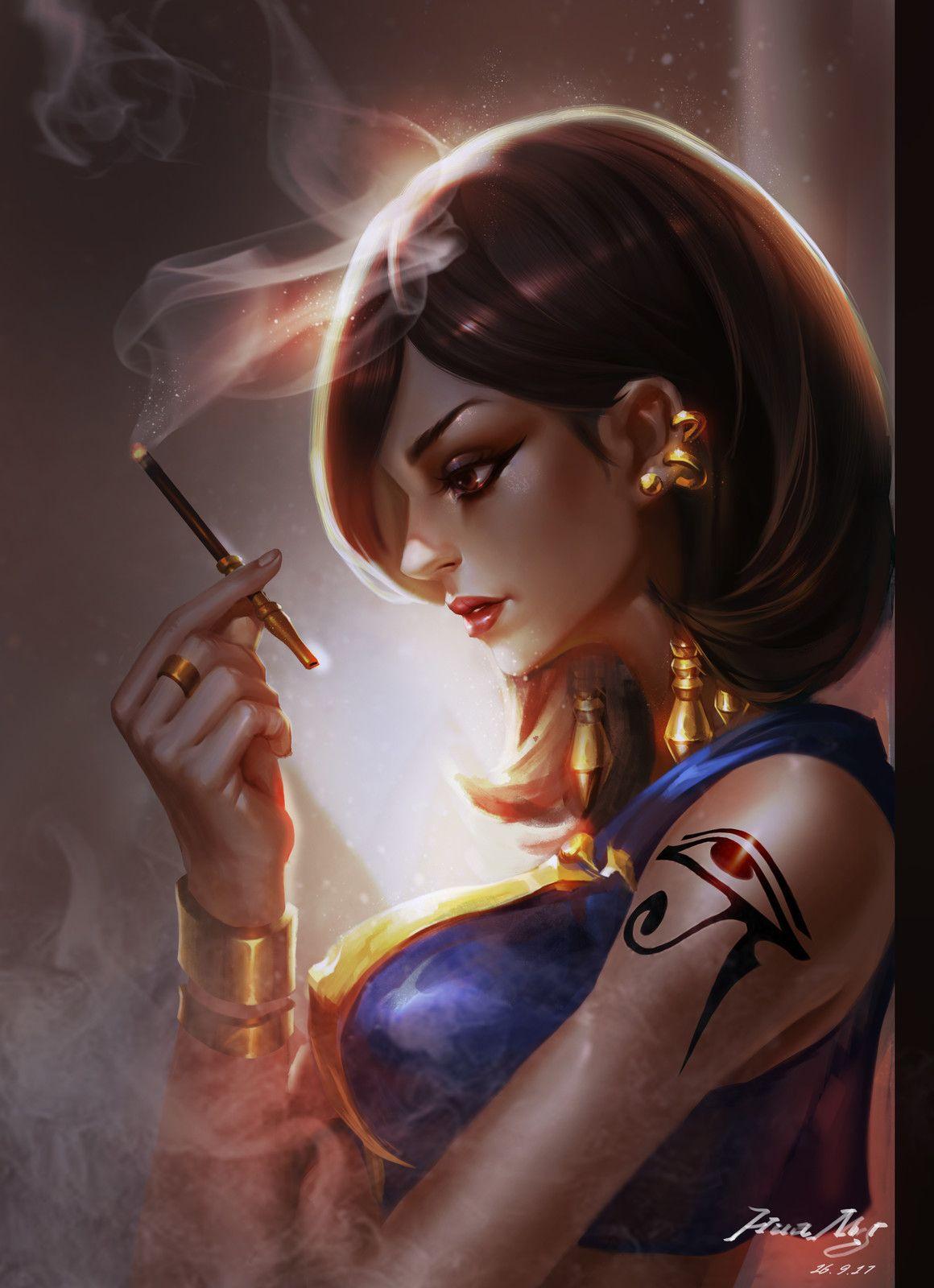 pharah fan art, SiJia Liu on ArtStation at https://www ...
