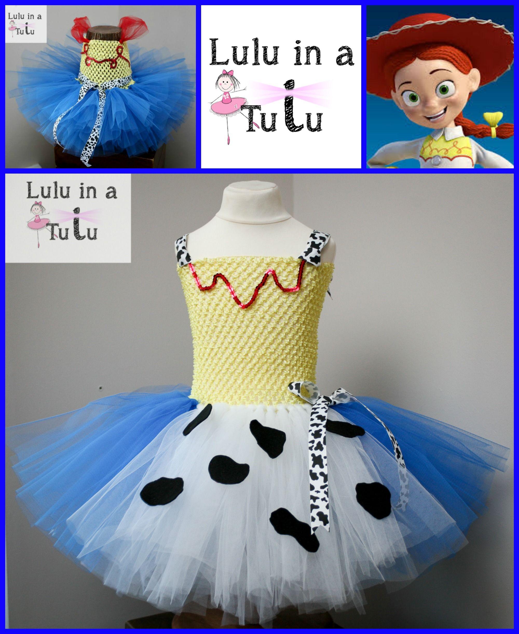 Jessie Cowgirl - Toy Story 1, 2, 3 Inspired Tutu by Lulu in a Tutu  Visit https://www.facebook.com/LuluinaTutu for more tutu designs