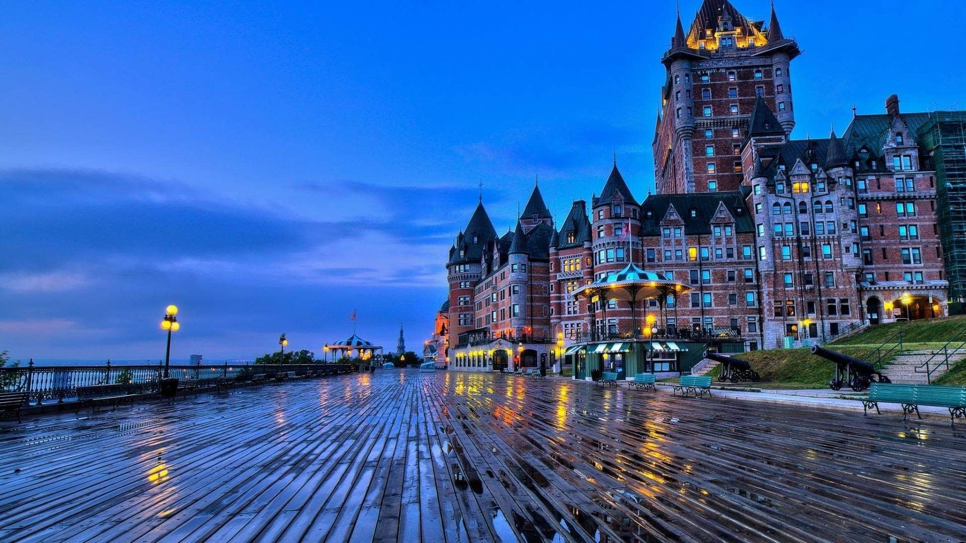 Quebec City Canada Wallpaper Hd For Desktop High Quality In