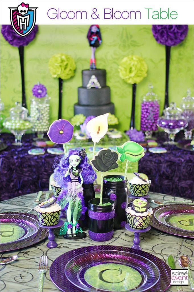 Monster High Party - Gloom \u0026 Bloom featuring Amanita Nightshade + Giveaway & Monster High Party - Gloom \u0026 Bloom featuring Amanita Nightshade + ...