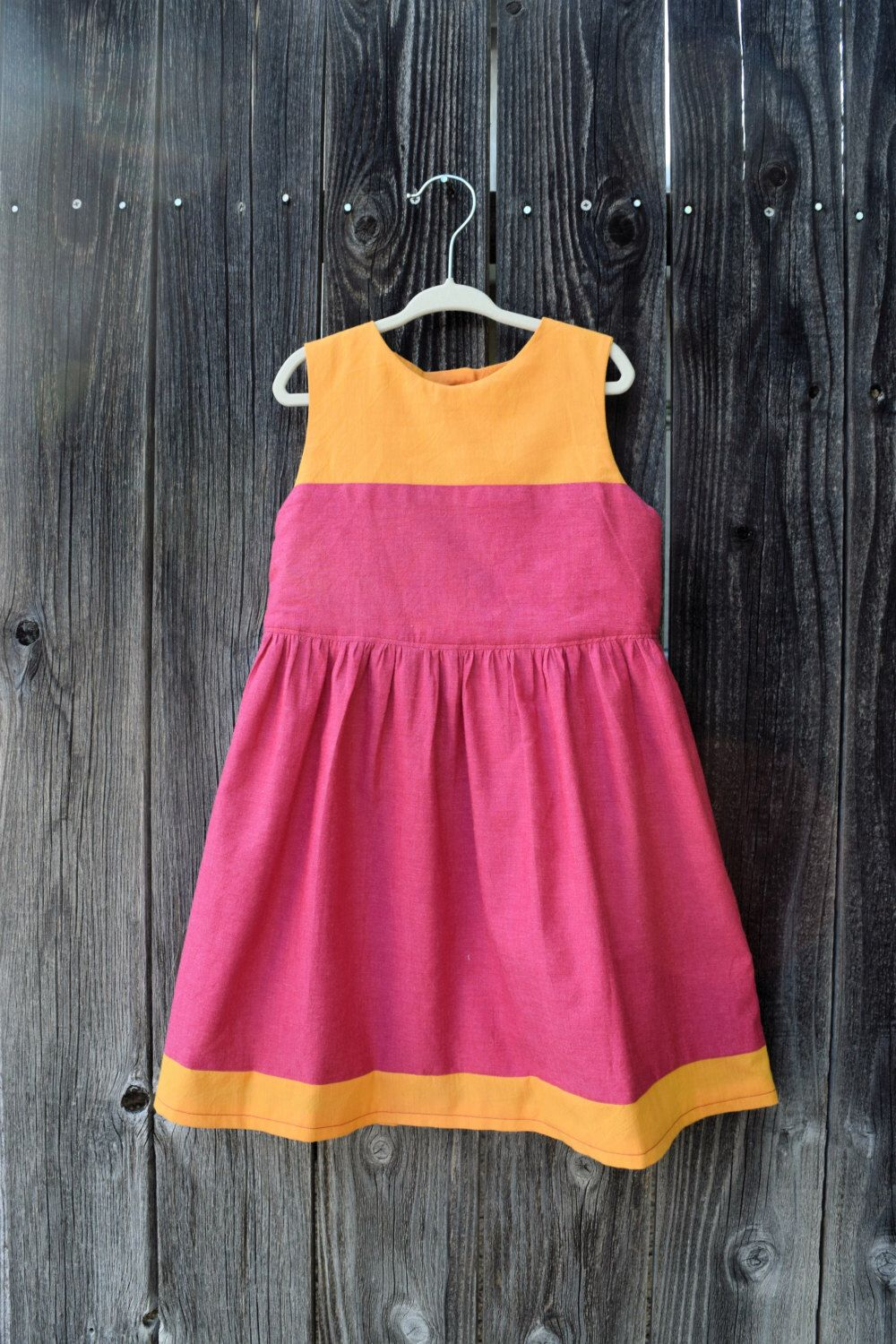 A personal favorite from my Etsy shop https://www.etsy.com/listing/285990191/girls-summer-dress