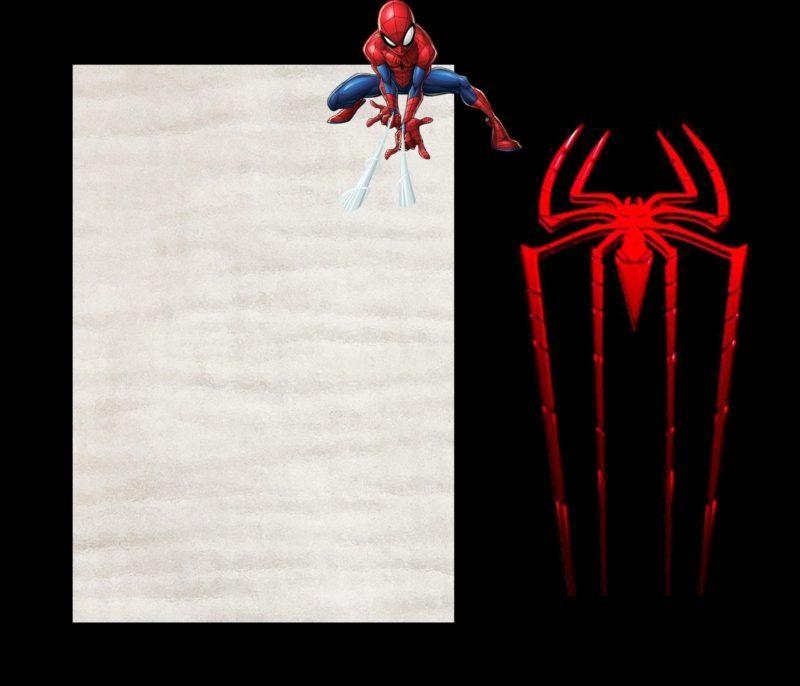 Free Spiderman Invitation Template Best Of Spider Man Invitations Cast A Web Of Excit Spiderman Invitation Spiderman Birthday Invitations Party Invite Template