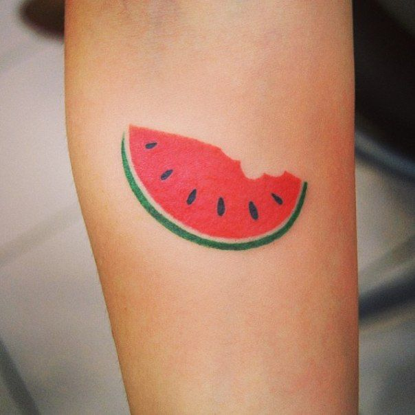 watermelon tattoo tatoos pinterest watermelon tattoo tattoo and tribute tattoos. Black Bedroom Furniture Sets. Home Design Ideas