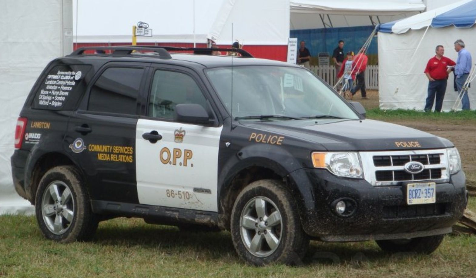 O P P Ford Escape Police Cars Emergency Vehicles Police