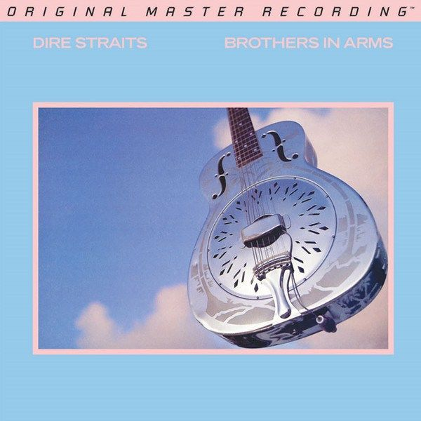 Dire Straits Brothers In Arms Mfsl 45 Rpm Vinyl Pussycat Records Brothers In Arms Dire Straits Rock Album Covers