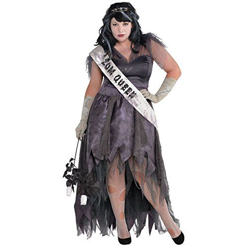 British Womens Ladies Homecoming Corpse Zombie Prom Queen Fancy ...